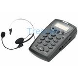 Headset - Cabezal De Operadora Con Caller Id Multitoc