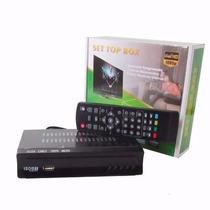 Conversor Digital P/ Televisão Tubo Lcd Pega Canais Abertos