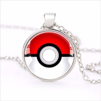 Colar Pokemon Pokebola Duplo Cordão Amizade - - Nota 10