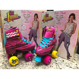 Patines Tipo Soy Luna V2.0 Semiprofesionales, Abec7, Goma