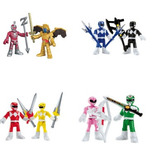 Kit Coleção Power Rangers Go Go Rangers Imaginext
