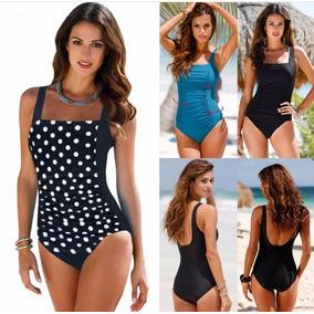 Precioso Monokini Traje De Baño Con Ajuste En Cintura Bikini