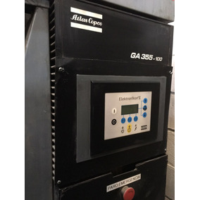 Compresor De Aire 100 Hp Con Cabina Ga355