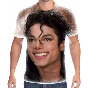 Camisa Camiseta Michael Jackson Estampa Total 2