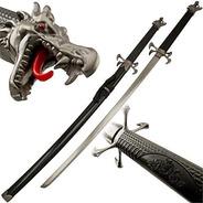 Espada Katana Daito Samurai Aço + Suporte + Lubrificante.