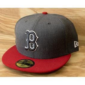 Gorra Nba Rojo Gris Hats Cap New Era 59 Fifty Boston