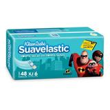 Caja Kleenbebé Suavelastic Max Increibles 2 Extra Jumbo 4