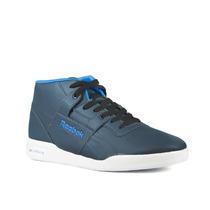Zapatillas Reebok Workout Mid Ultralite Hombre Azul