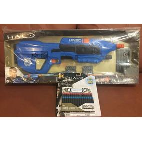 Halo Unsc Ma 5 Boomco Pistola + 30 Dardos Extras