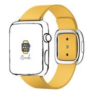 Pulseira Ibands Couro Moderno Para Apple Watch