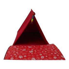 Cabana Para Calopsitas Toca Agapornis, Periquitos Vermelha