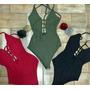Bodys Trenzados, Blusas Y Sweter Al Mejor Precio De Colores