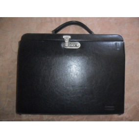 Portafolio Bolso Dama Con Seguro Combinacion Numerica Usado