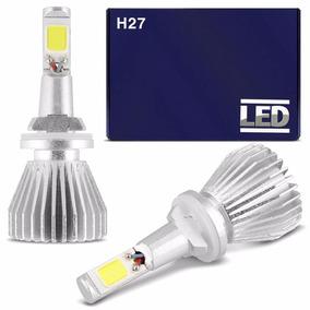 Kit Lâmpadas H27 6000k Tipo Xenon Super Led Headlight 12v