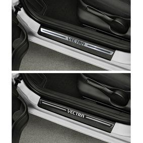 Jogo Soleira Premium Elegance Chevrolet Vectra 06 À 11 8 Pçs