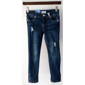 Pantalón Jean Para Niñas Y Adolescentes Talla 4-5-6-6x (7)