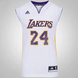 Camisa Regata adidas Nba Los Angeles Lakers Nº24 Kobe Bryant c82eea0a0