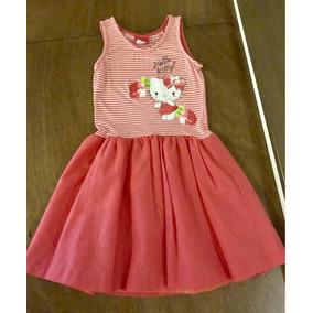 Vestido Hello Kitty Niñas Talla 8 Años