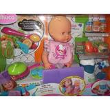 Nenuco Baby Chef, Con Muchos Accesorios De Cocina