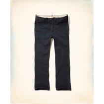 Calça Jeans Hollister Masculina Boot Zipper Fly Chinos 38br