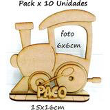 Portaretrato Tren, Souvenir, Pack X 10u 15cm .fibrofacil