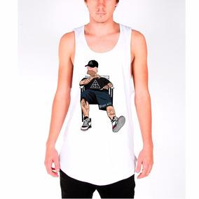 Camisa Camiseta Regata Longline Damassa 4i20