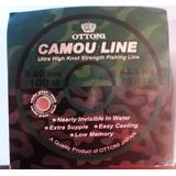 Linha De Pesca Camou Line 0.60mm. Pcte C/ 5 Rolos. Ctba, Pr