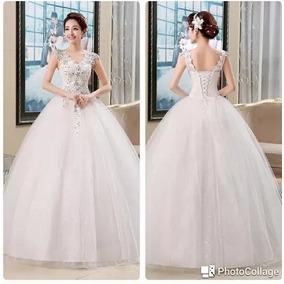 Vestido De Noiva Romântico Vintage