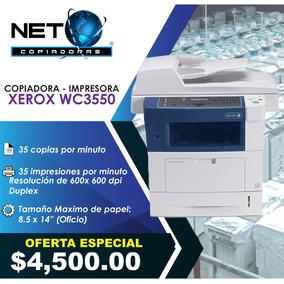 Copiadora Impresora Xerox Wc3550