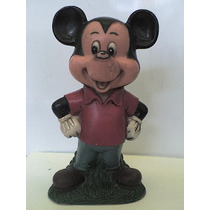 Mikey Mouse Alcancía Romay Vintage 70´s / Antigua Joya Retro
