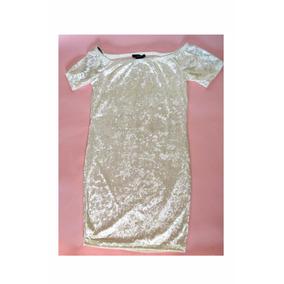 Vestido Velvet Bardot Sin Hombros Marfil Cocoa Forever21