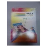 Resma Max Color Premium Glossy Photo 5r (230grs) X 20 Hojas
