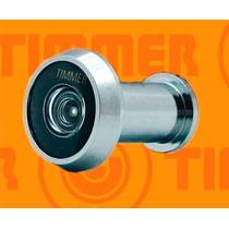 Olho Mágico 200º Timmer Portas De 34 A 46mm Metal Cromado
