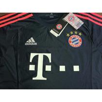 Camiseta Bayer Munich Negra 2016 Original Envíos!