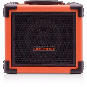 Caixa Multiuso 20w Bluetooth Laranja Hayonik Usb Fm Iron80
