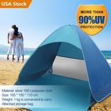 Alquiler Verano Playa Tienda Refugio Uv Protección Parasol