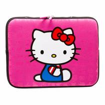 Case Capa Estojo Da Hello Kitty P/ Netbook Até 12 Polegadas