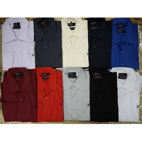 Kit 3 Camisas Social Ricardo Almeida Manga Longa Varias Core