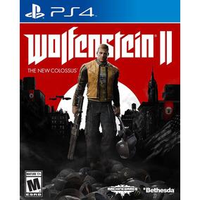 Wolfenstein 2 Ps4 The New Colossus Fisico Sellado Original !