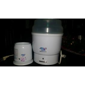 Kid Para Bebe Esterilizador Calentador Y Extractor Avent