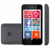 Nokia Lumia 530 Preto Dual Chip Windows 8.1 4gb 5mp Lacrado