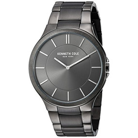 Kenneth Cole New York Mens Kc9109 Slim Trip Stainless Stee