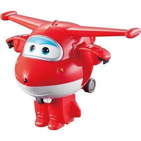 Mini Avião Super Wings - Jett - Intek