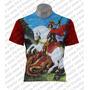 Camiseta Orixá - São Jorge Ogum 06