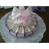 Torta De Recuerdos,encintados Baby Shower,bautizos,.........