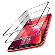 Pack 2 Láminas Vidrio 3d Full Bordes iPhone XR