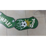 Banderín Articulado Feliz Cumple Temática De Fútbol