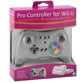 Controle Nintendo Wii U Pro Controller Classic Snes Limited