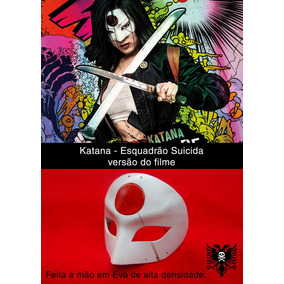 Katana - Esquadrão Suicida - Máscara Dx (versão Do Filme)