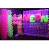 Balão Bexiga De Neon Nº9 - Com 50 Unidades Promoção